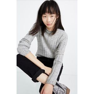 NEW MADEWELL Donegal Evercrest Turtleneck Sweater